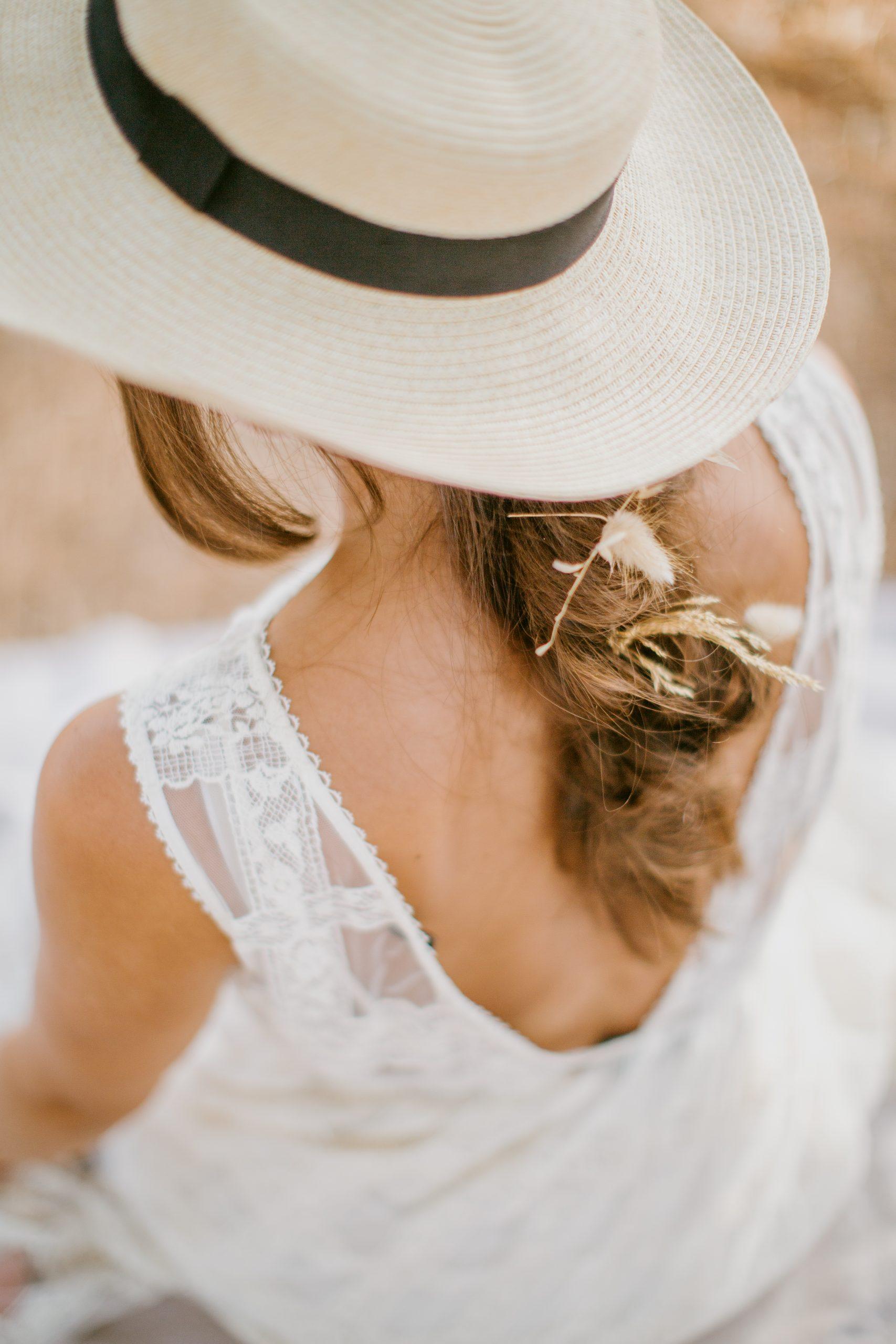 portrait session of a bride