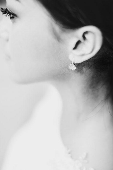 diamond earrings bride jewellery